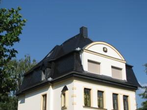 Dachsanierung - Mehrfamilienhaus in Taucha: Nachher