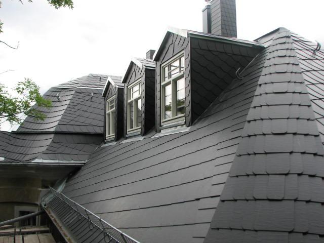 Energetische Dachsanierung einer denkmalgeschützten Stadtvilla in Leipzig -Gohlis